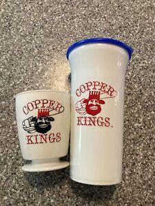 Vtg Copper Kings Minor League Coca Cola Tampa Bay Rays Mug Cup Lot Butte MT Milb