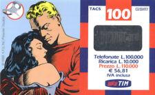 3983 SCHEDA TELEFONICA RICARICA TIM GORDON ABBRACCIA DALE 15P GIUGNO 2002