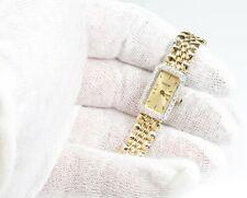"Jaguar 14K Yellow Gold Ladies Diamond Dress Watch 7"" and 7.25"" WHOLESALE"