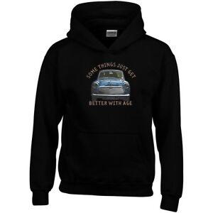 Mini Cooper Hoodie Somethings Get Better With Age Funny Joke Gift Sweatshirt Top