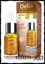 Delia Intensiva Anti Edad suero Argan Oil suaviza las empresas cara y cuello 10ml