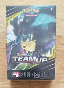 Pokemon Team Up Build and Battle box factory sealed