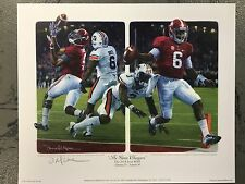 """Daniel Moore """"The Game Changers"""" Alabama Football Lithograph Print"""