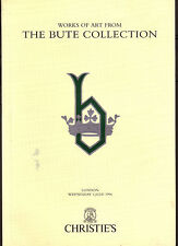 Christie's - Works of art fron the Bute collection - London July 1996