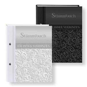 Stammbuch der Familie Ornament Stammbücher A5 A4 Hochzeit Familienstammbuch Buch