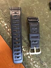 Casio G Shock Screw Back DW 5600 Original And Genuine Strap And Buckle Gold