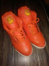 Reebok Court Victory Pump x SNS Crayfish Party Orange/White sz 10.5 Rare Retro