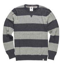 Element Men's Croy Stripe Sweater Grey Size Large 821301334539