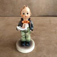 Vintage Hummel Soloist Figurine HUM - 135 By Goebel TMK boy singing choir