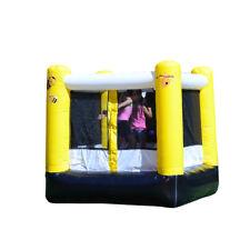 JumpOrange Kiddo Bee My Guest Inflatable Party Bounce House Backyard Moonwalk