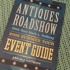Antiques Roadshow Souvenir Event Guide Program - 2009 Summer Tour - Phoenix, AZ