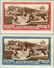 EBS Vatican City Città del Vaticano 1933 Express (Aerial View) E3-E4 MNH**