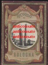 RICORDO DI BOLOGNA 32 VEDUTE ORIGINALE ANNI '20 libretto cartoline fisarmonica