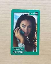 RICARICA TELEFONICA OMNITEL - CARTA SERVIZI - 10,00 LIRE - SCADENZA 2002