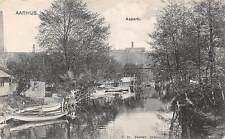 Denmark Aarhus Aaparti boats 1906