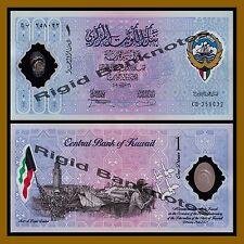 Kuwait 1 Dinar, 2001 P-CS2 10th Anniversary of Liberation Polymer Unc