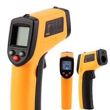 Laser LCD IR Infrared Digital Thermometer Non-contact Temperature Measuring Gun