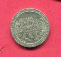 1.00 Casino Slot Token - Lake Tahoe NV - 1984 Caesar's Tahoe -