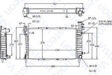 Radiator fits 1986-1990 Mercury Sable  VISTEON