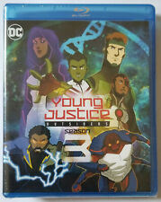 Young Justice Outsiders: The Complete Third Season 3 - Blu-ray NEW SEALED