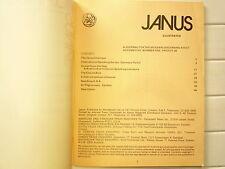 1975 JANUS VOLUME 5 N° 1 JOURNAL FOR THE MODERN DISCERNING ADULT