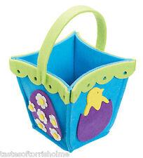Kitchen Craft Hoppity de Pâques enfants œuf chasse feutre souple panier