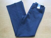 LADIES ATMOSPHERE SIZE 8 BLACK POLYESTER TROUSERS NEW WITH TAGS