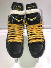 New listing CCM Super Tacks Pro Stock Ice Hockey Skates Size 6.5 MonoFrame 360