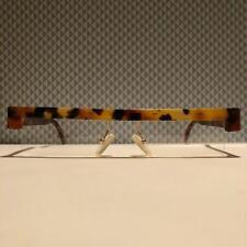 Brille Brillengestell Maske Design Berlin Balkenbrille braun Havanna NOS