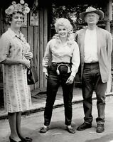 The Beverly Hillbillies Donna Douglas Buddy Ebsen Press Photo 1969 CBS Stamped