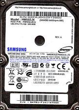 "HM502JX p/n: 34751F141A7AAH s/n: S2FA... Samsung 500GB USB 2.0 2.5"" AAA8"
