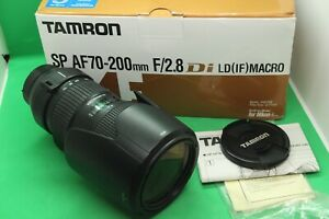 Tamron SP AF 70-200mm f/2.8 Di LD (IF) Macro lens for Nikon
