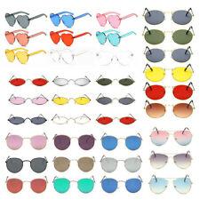 Vintage Ladies Sunglasses Women's Retro Shades Summer Fashion Designer UV 400