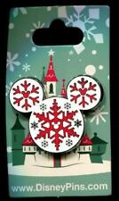 Snowflakes Mickey Icon Holiday Christmas 2016 Disney Pin 118465