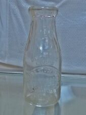 Vintage Tampa Stock Farms and Dairy Co. Florida Milk Dairy Bottle Two (2) Pints
