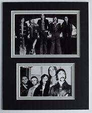 More details for steve hackett signed autograph 10x8 photo mount display genesis music aftal coa
