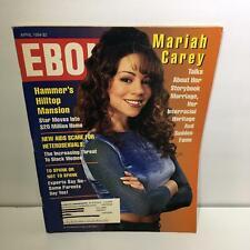 Ebony Magazine: Mariah Carey Cover April 1994