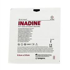 Inadine Sterile Dressings 9.5cm X 9.5cm- 1 pack of 10 Dressings