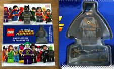LEGO DC COMICS SUPER HEROES ENCICLOPEDIA DE PERSONAJES + MINIFIGURE EXCLUSIVE
