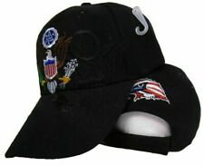 United States President Hat Presidential Seal Black Shadow Embroidered Cap