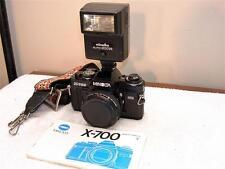 Working MINOLTA X-700 35mm SLR CAMERA MPS BODY+ Manual+ 200x Flash+2x Tele