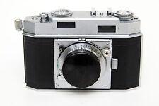 Agfa Karat 36 camera, 1951 model, Schneider-Kreuznach Xenon 1:2/50mm lens, works