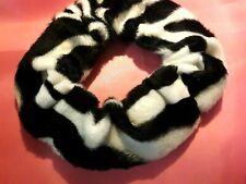 Hair Scrunchie Bobble Zebra print fur hair accessories!
