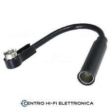Adattatore per antenna spina DIN a radio ISO -90° con cavo lunghezza 15 cm