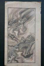 Woodblock Print Dragon Unryu Ukiyo-e Unique & Antique from Kyoto Japan 0318B11G