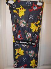 POKEMON Gray Flame Resistant PJ Sleep Lounge Pajama Pants Boys 10 / 12 NWT