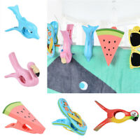 Plastic Large Clothes Clips Towel Pegs Socks Curtain Drying Clip Windproof Tools