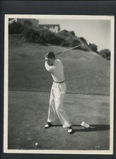 ROBERT AMES ON THE GOLF COURSE - 1930s VINTAGE PHOTO - BEST KNOWN FOR HOLIDAY