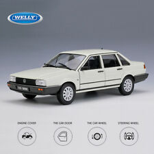 Volkswagen 1:18 Scale VW SANTANA White Metal Alloy Car Model Toys Gifts By WELLY