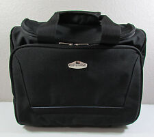 Ricardo Beverly Hill Black Carry On Business Travel Laptop Overnight Roller Bag
